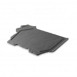Basalt matt slate style cow plate