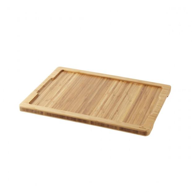 Bamboo tray for Basalt steak plate