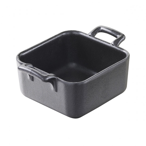 Belle Cuisine black cast iron style square baking dish 3 sizes