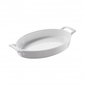 Belle Cuisine shallow oval baking dish, 2 colors