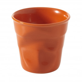 Crumpled coffee cup clementine 2 sizes