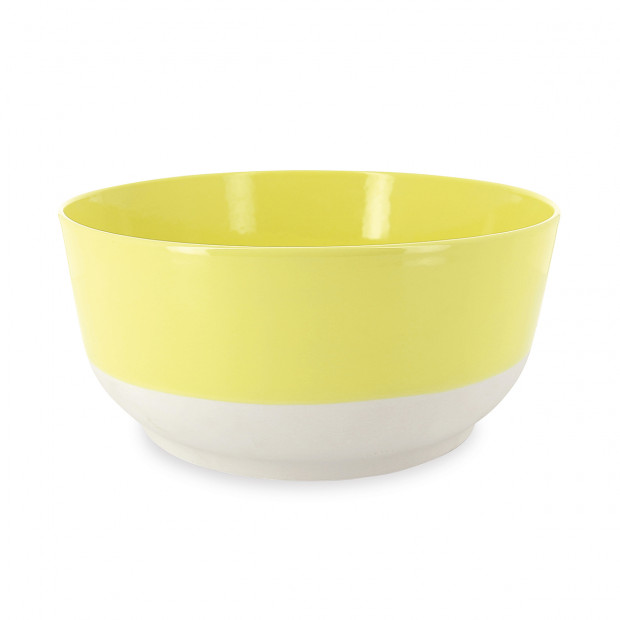 Color Lab citrus yellow salad bowl 2 sizes