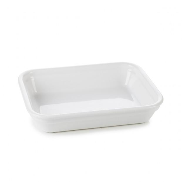 French Classics white individual rectangular roasting dish 2 sizes