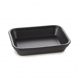 French Classics black cast iron style individual rectangular roasting dish 2 sizes