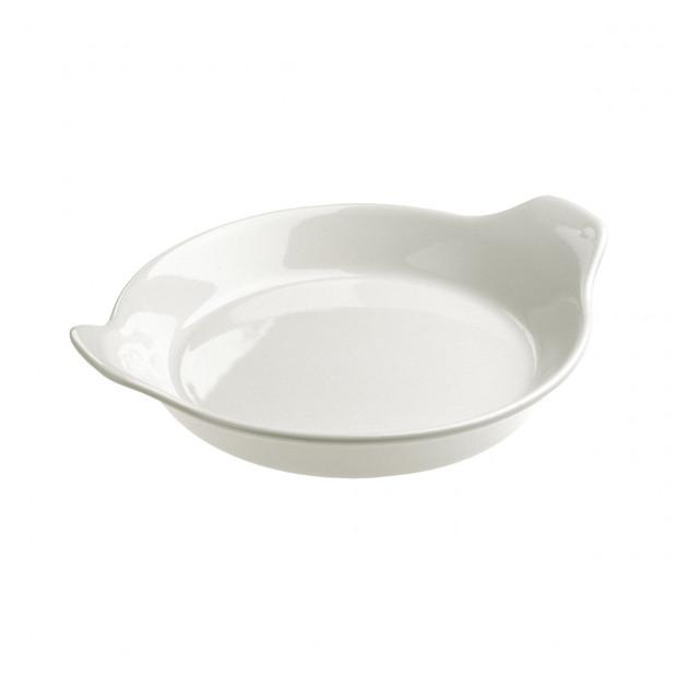 "French Classics white round eared dish ø7"""