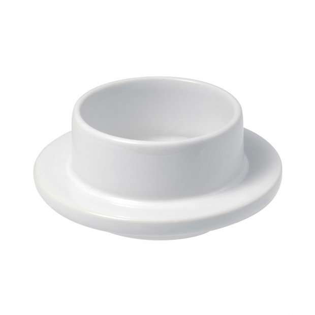 French Classics white butter dish