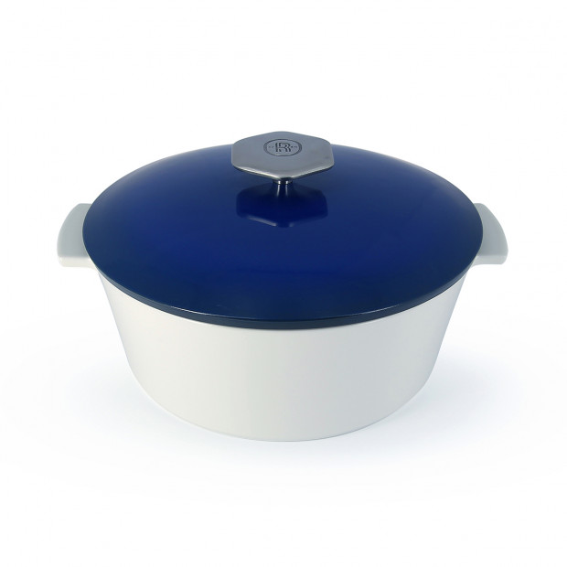 Revolution 2 round ceramic cookware touareg blue induction 3 sizes