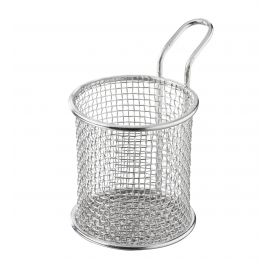 stainless steel french fries basket small