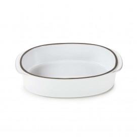 """Rectangular Oblong Dish 7.5"""" x 5"""" Caractère, 4 colors"""