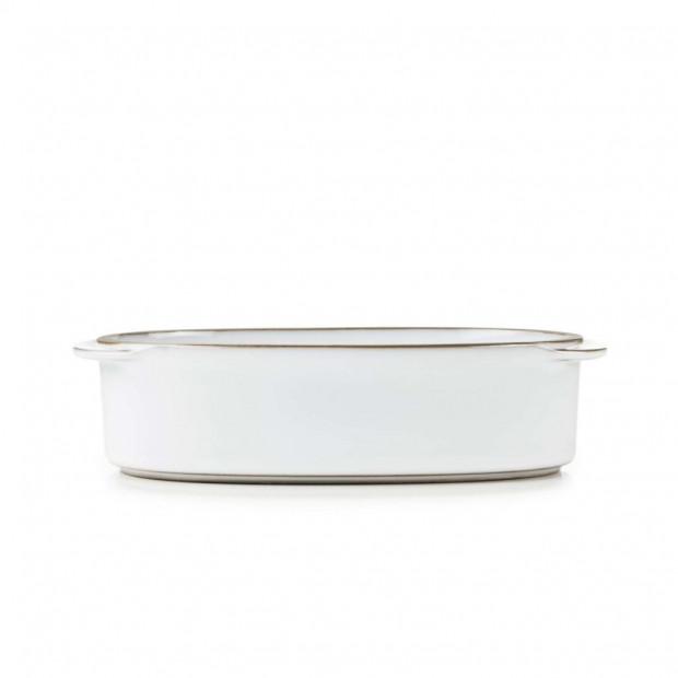 """Rectangular Oblong Dish 6.25"""" x 4.25"""" Caractère, 4 colors"""