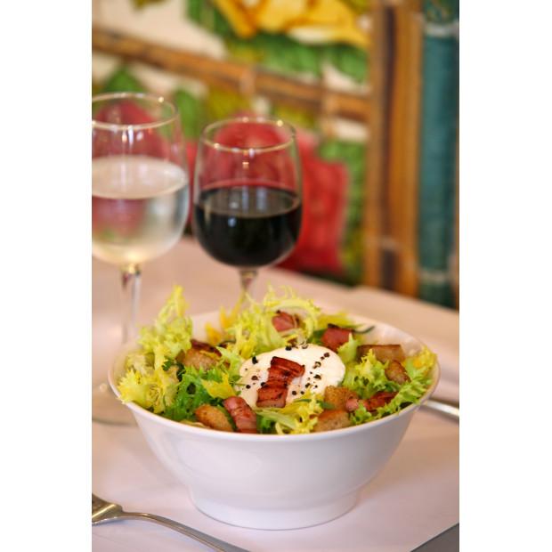 French Classics white lyonnais salad bowl 2 sizes