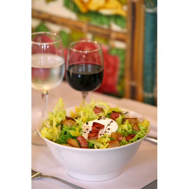 French Classics white lyonnais salad bowl 2 sizes