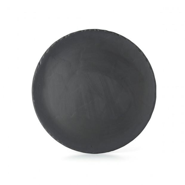 BASALT ROUND FLAT PLATE 26CM
