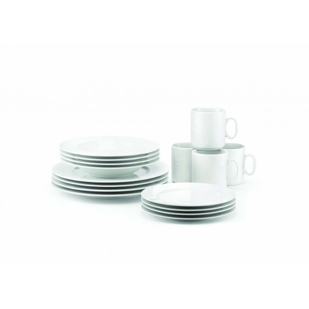 Set of 16 pieces French Classics dinnerware