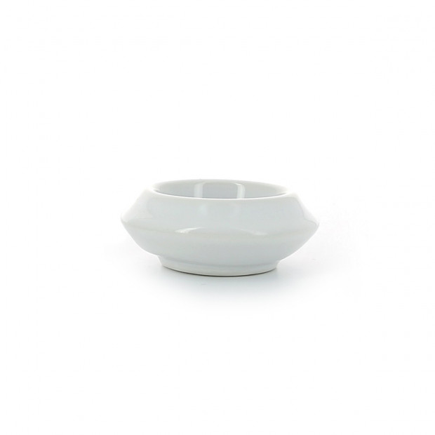 French Classics white porcelain butter pot