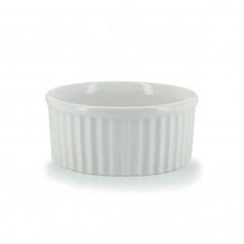 Soufflé individuel en porcelaine