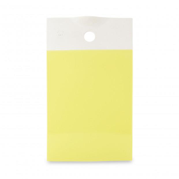 Planche de présentation colorée en porcelaine - Jaune Citrus