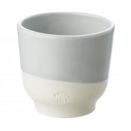 Tasse colorée en porcelaine - Gris Stratus