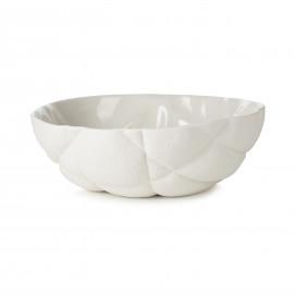 Saladier en porcelaine - Blanc