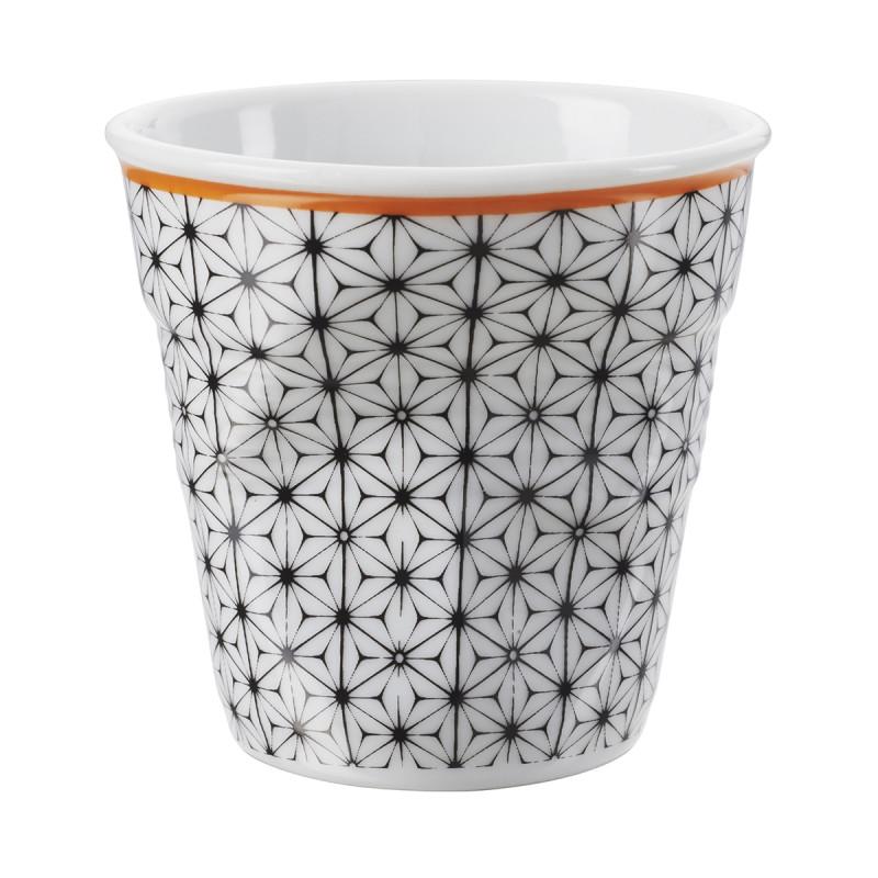 tasse espresso d cor e en porcelaine. Black Bedroom Furniture Sets. Home Design Ideas
