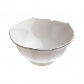 coupelle en porcelaine blanche lotus - les essentiels