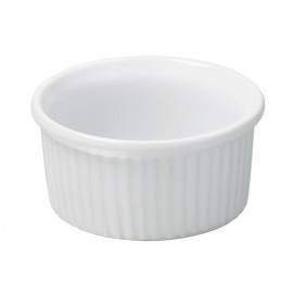 ramequin en porcelaine blanche - french classics