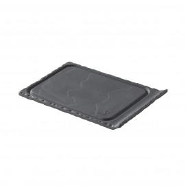 petite planche 1 bord relevé en céramique effet ardoise - basalt