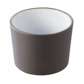 pot à tapas bicolore blanc - solid