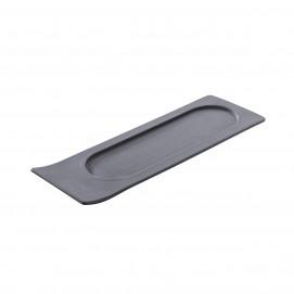 plateau pour pots à tapas noir - solid
