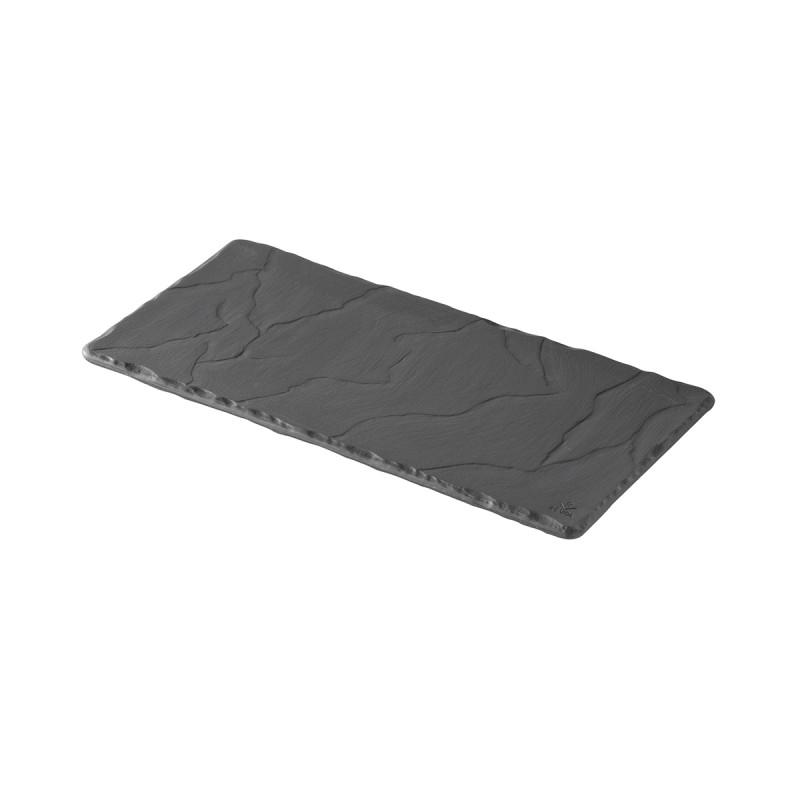 plateau rectangulaire en c ramique effet ardoise. Black Bedroom Furniture Sets. Home Design Ideas