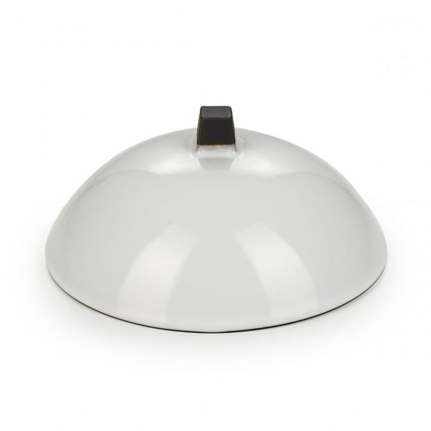 Cloche pour Dim Sum en porcelaine - Blanc Cumulus