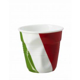 Froissé espresso décoré Italie