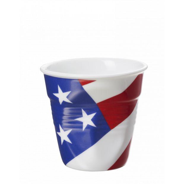 Froissé espresso décoré USA
