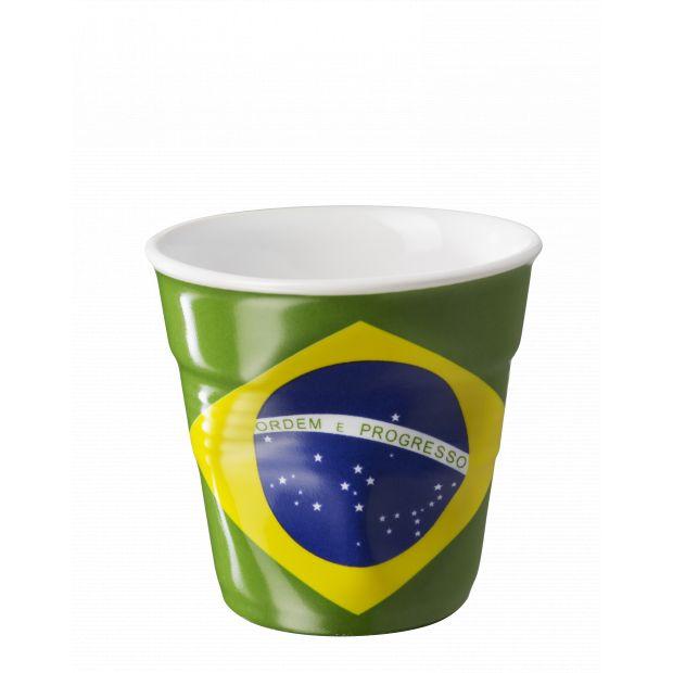 Froissé espresso décoré Brésil