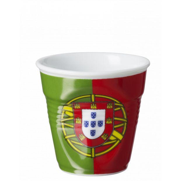 Froissé espresso décoré Portugal