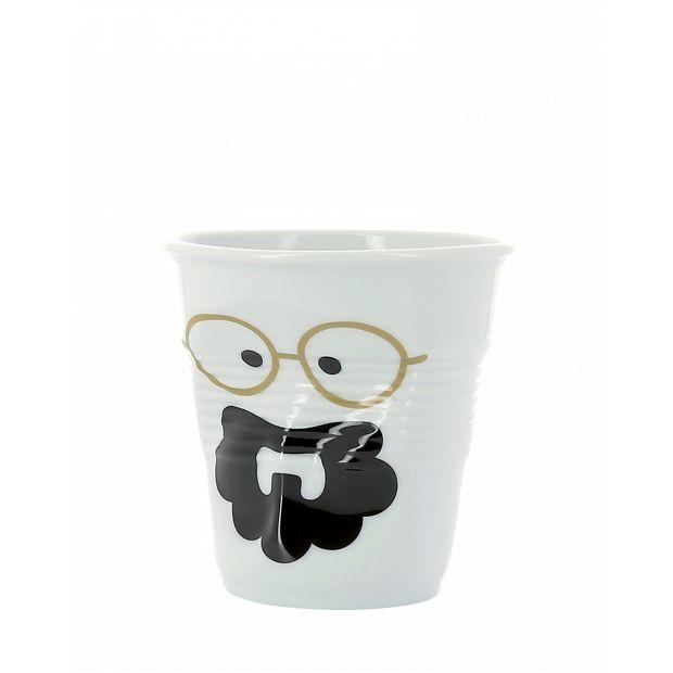 Froissé espresso décoré Monsieur Bohème