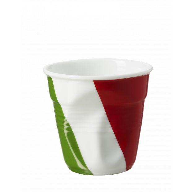 Froissé cappuccino décoré Italie