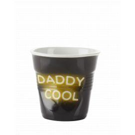 Froissé cappuccino décoré Néon Daddy Cool