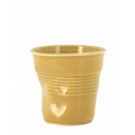 Froissé cappuccino uni Safran