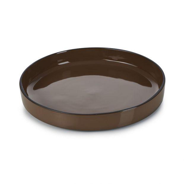 Assiette gourmande Caractère 23 cm Tonka