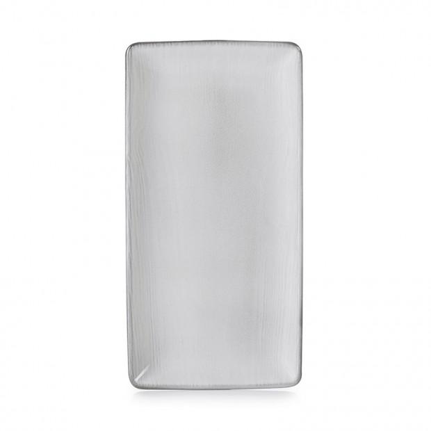 Assiette rectangulaire - White Sand