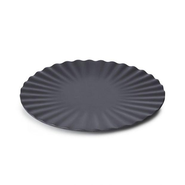 Assiette 17cm - Black Smooth