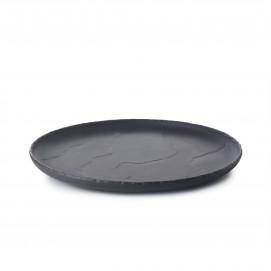 Assiette Coupe Plate Basalt 26cm