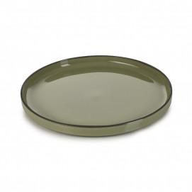 Assiette Gourmande 14 cm Caractère Menthe