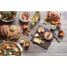 Pack de 4 assiettes Caractère 26 cm - Muscade