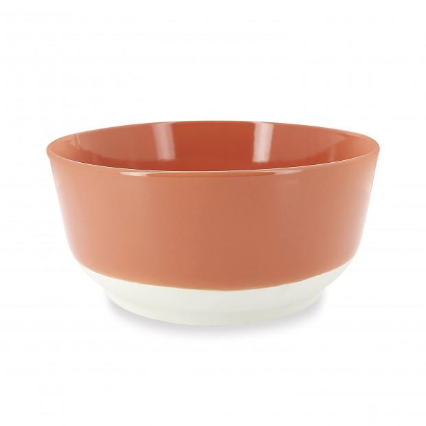plat rond profond effet ardoise en porcelaine - belle cuisine eclipse