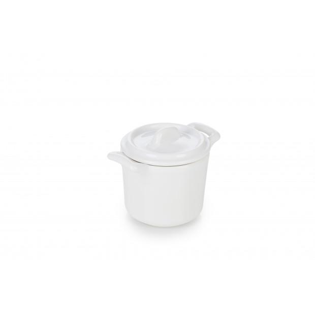 Assiette coupe en porcelaine effet bois - Réglisse