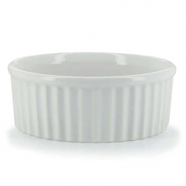 MOULE A SOUFFLE INDIVIDUEL - FRENCH CLASSIC 37CL - BLANC