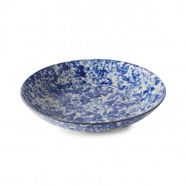 Assiette Coupe en Porcelaine Fond Plat Equinoxe Edition Collector - Ocean Vibes - 1L & 1,3L