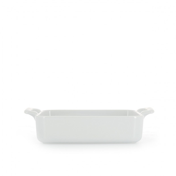 Rectangular porcelain dish